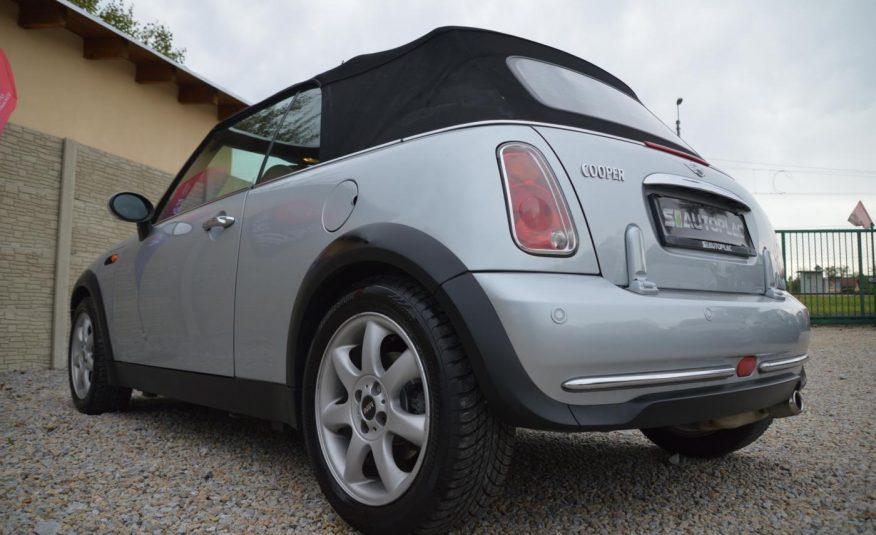 Mini Cooper 1.6 i 85KW Kabriolet